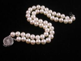 Zweireihiges Perlenarmband, AAA, 6,5-7mm
