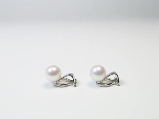 Ohrclips für Perlen