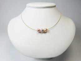 faribige Perlen