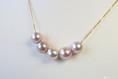Goldkette mit Perlen