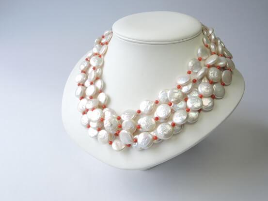 münzförmigen perlen