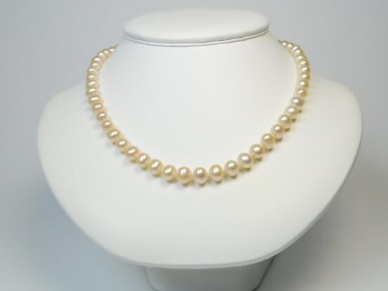 Pfirischfarbene Perlen