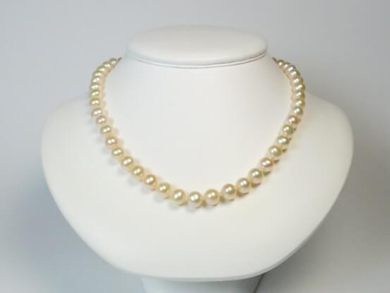 semi-runde Perlen