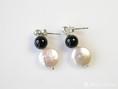 ohrstecker perlen onyx