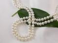 echte perlenkette lang