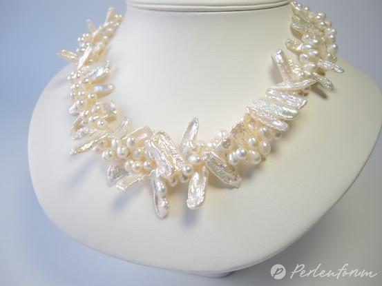 stäbchenförmigen Perlen