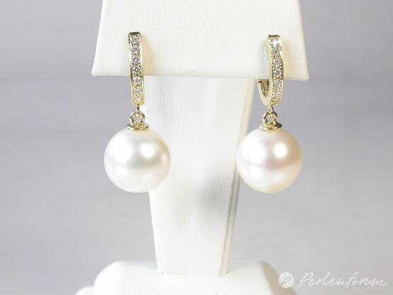 diamantkreolen perlen