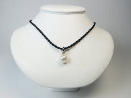 Clipanhänger mit weißer barocker Perle