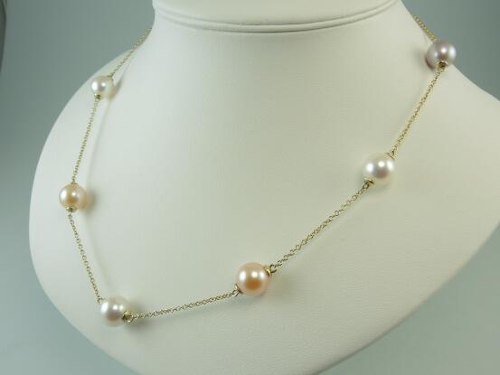 goldschmuck mit perlen