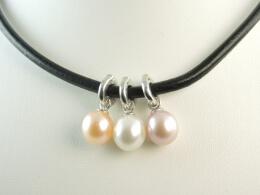Variationskünstler:  Charm Perlen-Clip-Anhänger, 9,5-10,5 mm
