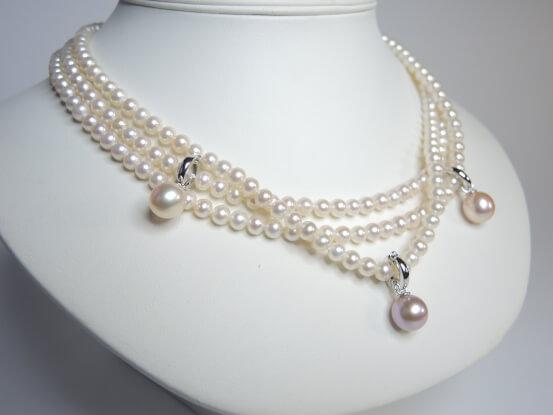 Collier Perlen