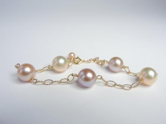Perlen metallischer Lüster