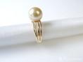 goldene perle ring