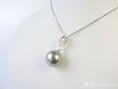 Silbergraü Perle