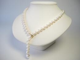 Y-Perlenkette, AAA Qualität, 8 -11mm