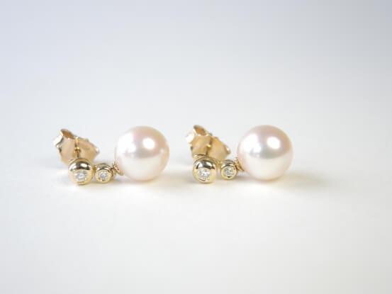 Diamant Perlenstecker