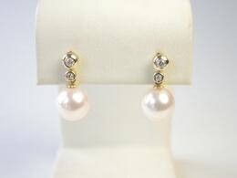 Perle Diamant Stecker