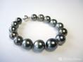 dunkles Perlenarmband